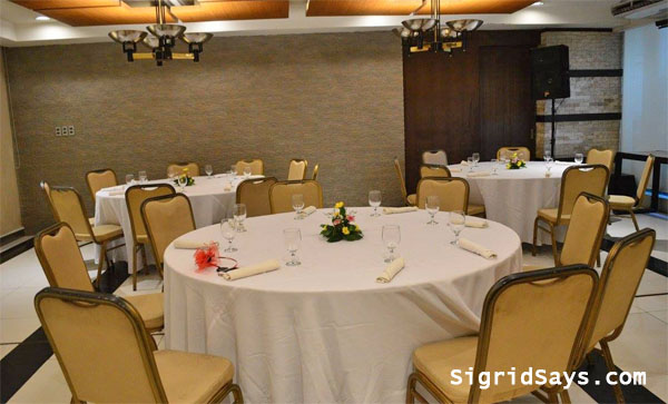 L'Fisher Hotel Function room