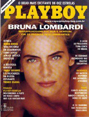 Bruna Lombardi - Playboy 1991