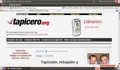 Tapicero.org web antigua