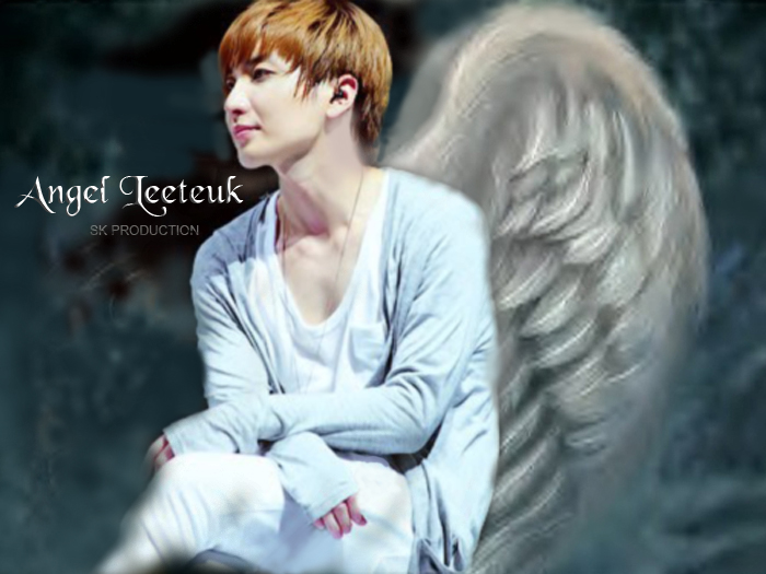 SUPER JUNIOR: 120802 My Special Angel : White Angel Leeteuk