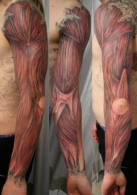 Tattoo otot lengan