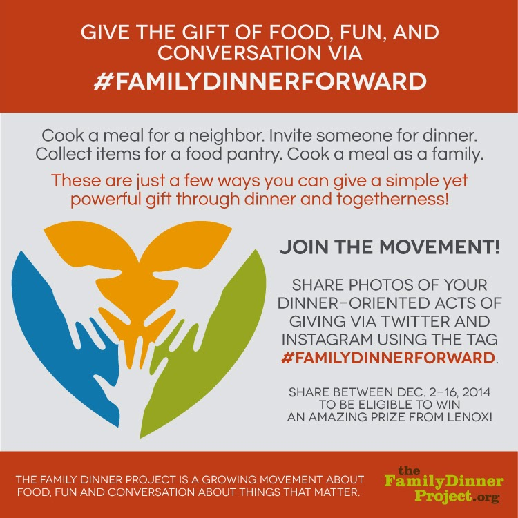 The Family Dinner Project #familydinnerforward