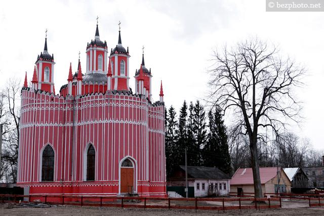 храм в селе красном