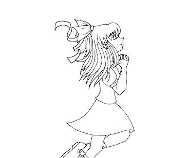 #3 Paula Coloring Page