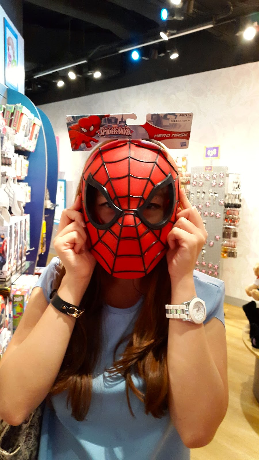 Spiderman Mask Madame Tussaud Hong Kong