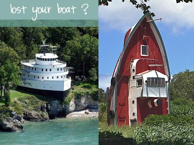 maison forme bateau