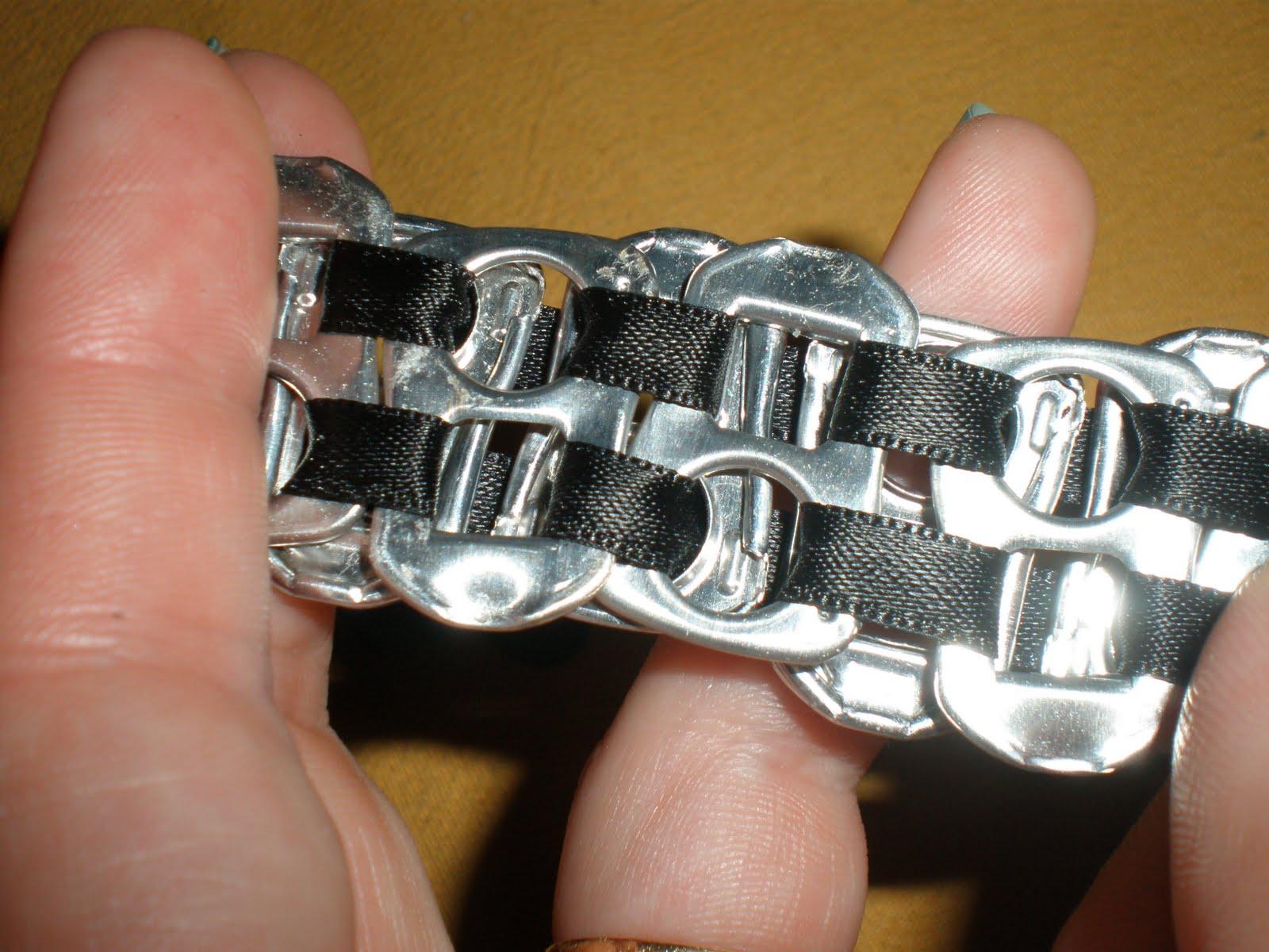 como hacer pulseras rockeras