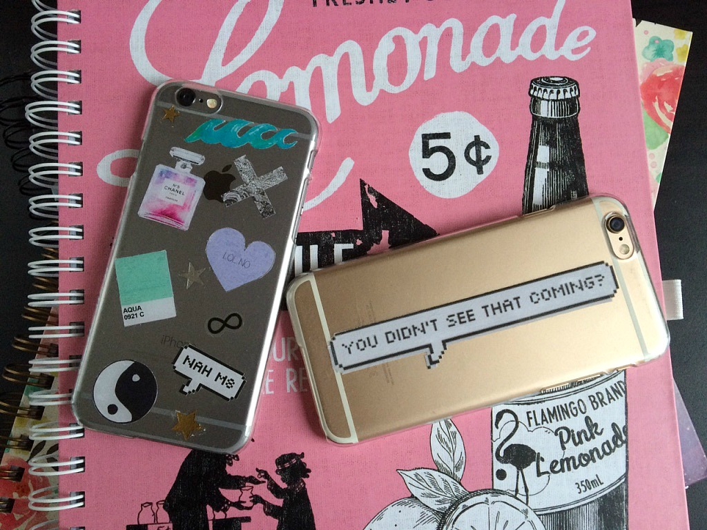 Cat Eyes and Glitter Bombs: DIY: Tumblr Inspired Clear ...
