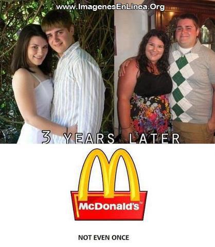 Mc Donal's: 3 años despues