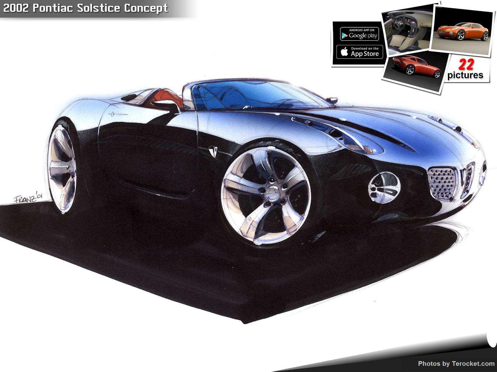 Hình ảnh xe ô tô Pontiac Solstice Concept 2002 & nội ngoại thất