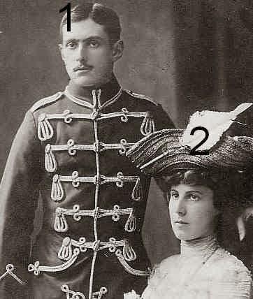 Fürst Otto-Victor et Fürstin Eleonore  von Schönburg-Waldenburg