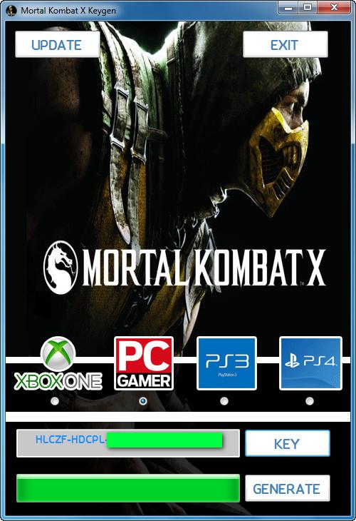 license key for mortal kombat x