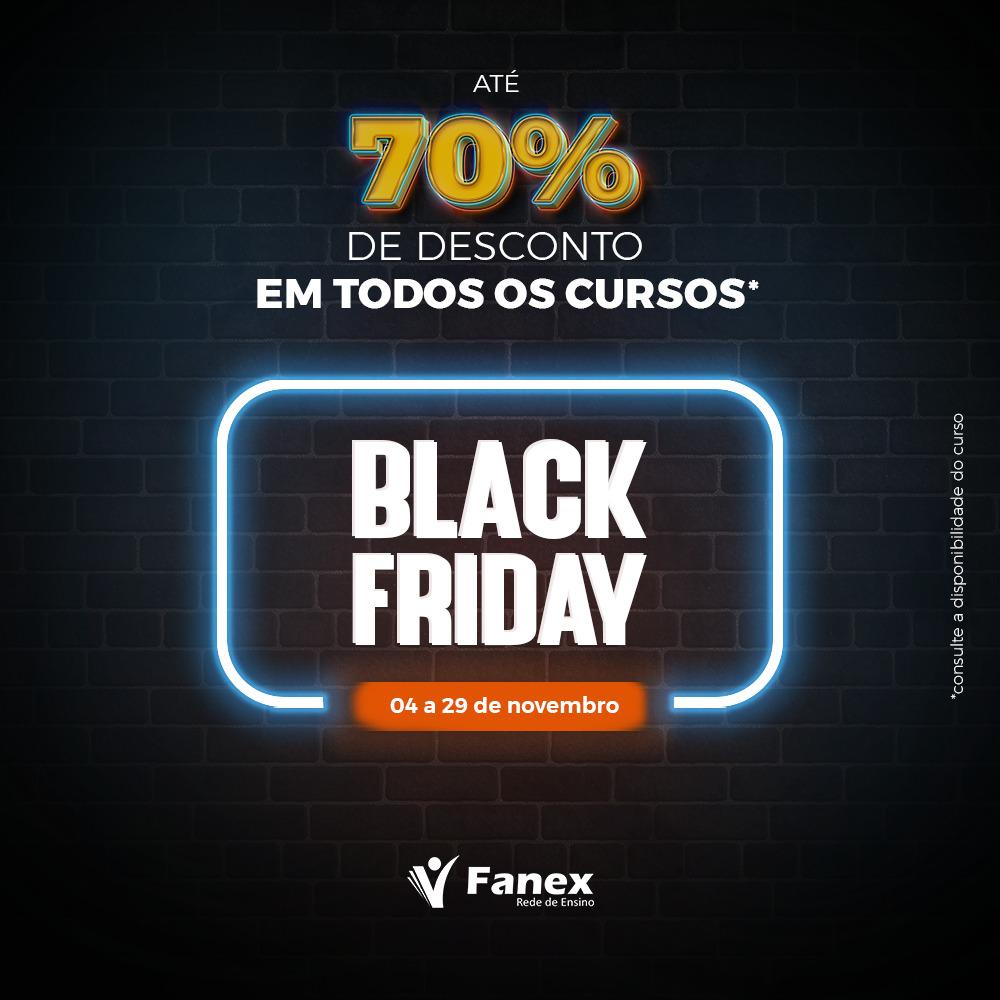 FANEX NO BLACK FRIDAY