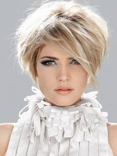 Model New Short Hairstyles 2016 For Women Over 50