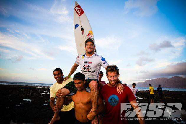 Tiago Pires gana el Islas Canarias Pro Lanzarote