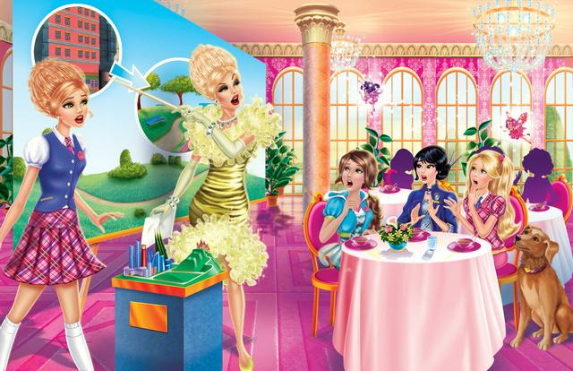 juegos barbie princesa: