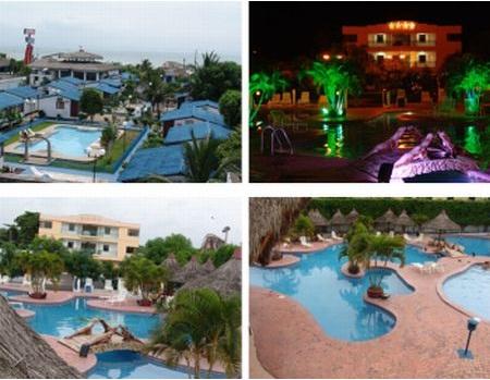 Hoteles cercanos a la playa de Atacames
