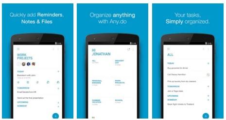 تطبيق مجاني لتنظيم وجدولة المهام والأعمال للأندرويد والآيفون Any.DO 3.4.12.8 APK-iOS