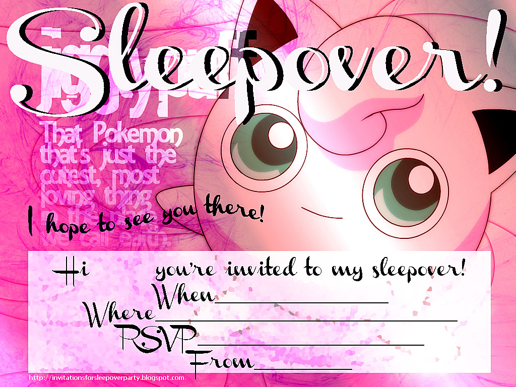 sleepover party invitations Josemulinohouseco