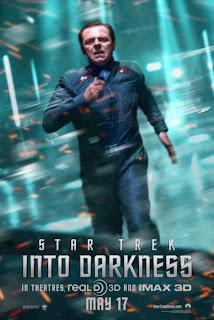 Simon Pegg Star Trek Poster