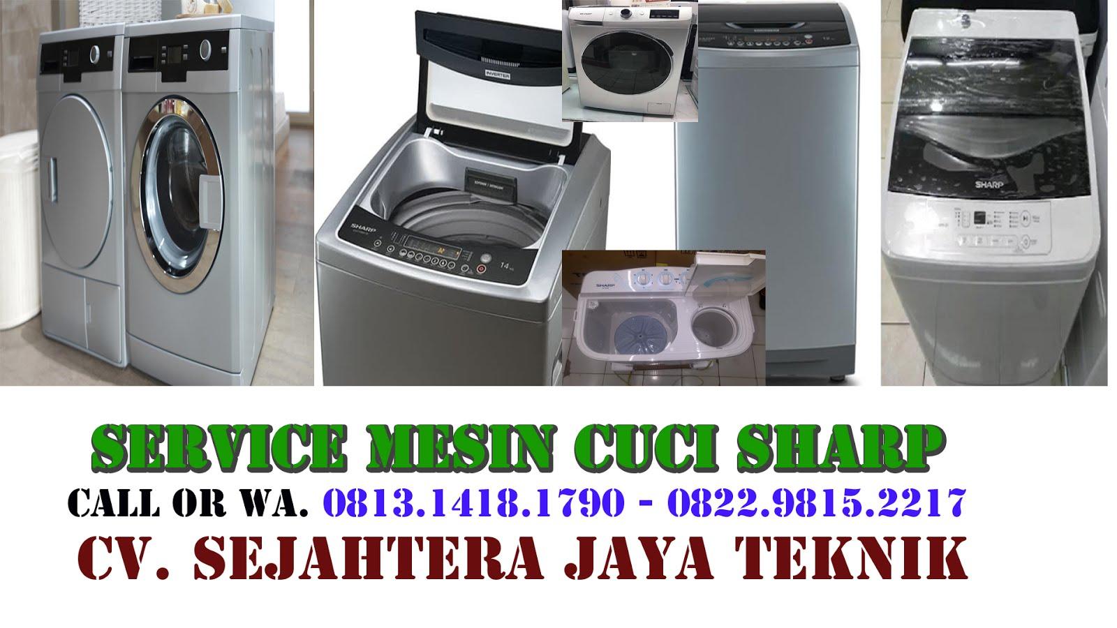 Service Mesin Cuci Sharp di Jakarta Selatan