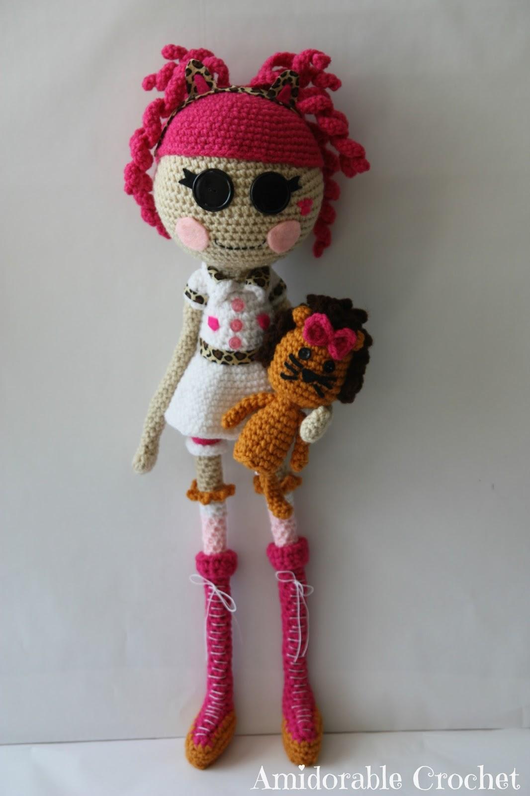 Crochet Wedding Dolls Pattern : A[mi]dorable Crochet: Lalaloopsy Doll