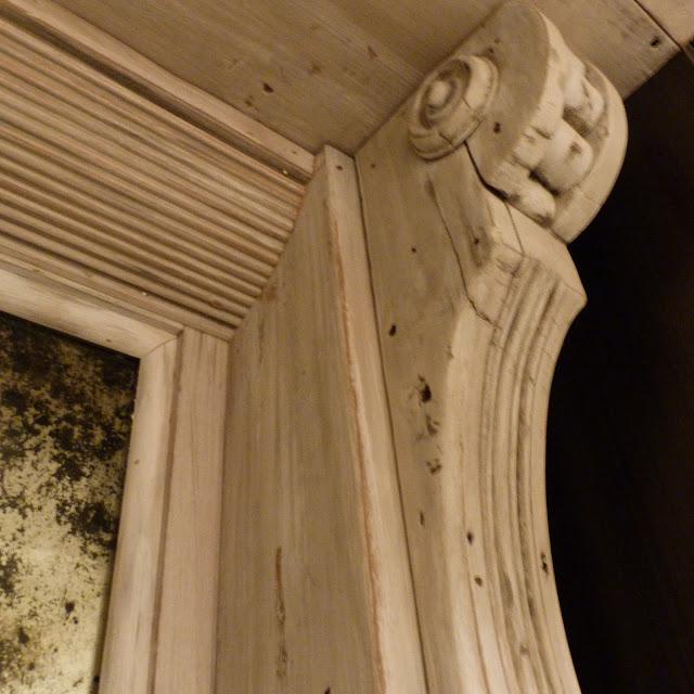 house envy DIY rustic modern bar mirror