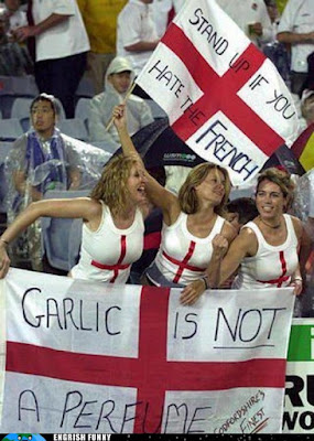 garlic is not a perfume english hate the french
