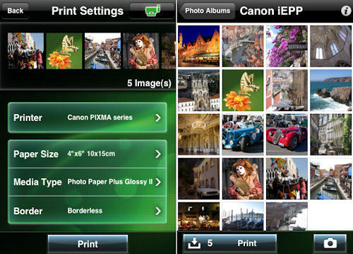 how to connect canon mg3150 printer to ipad
