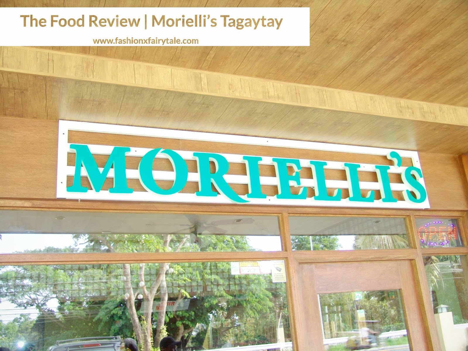 The Food Review | Morielli's Tagaytay