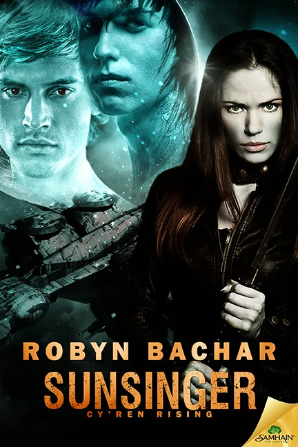 Book cover, SunSinger by Robyn Bachar