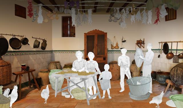 Museo comarcal de L`Horta Sud, estancia, porrat