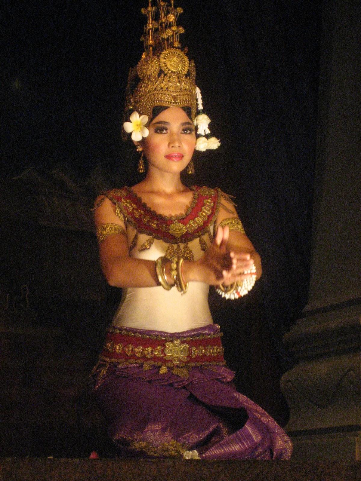 Dancer at Angkor Wat, Siem Reap Cambodia