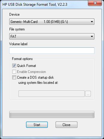 hp usb disk storage format tool v2.2.3