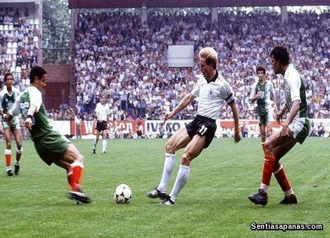 Algeria 2 Jerman Barat 1 (1982)