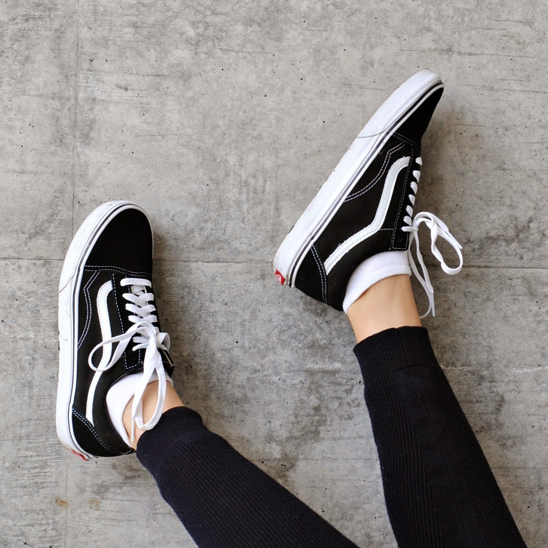 old skool vans damen schwarz