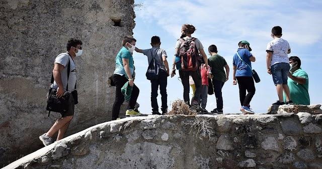 """La """"Memoria del corpo"""". Grande partecipazione al trekking archeologico a cura dell'archeologo Lorenzo Chiricò di APS Asperitas."""