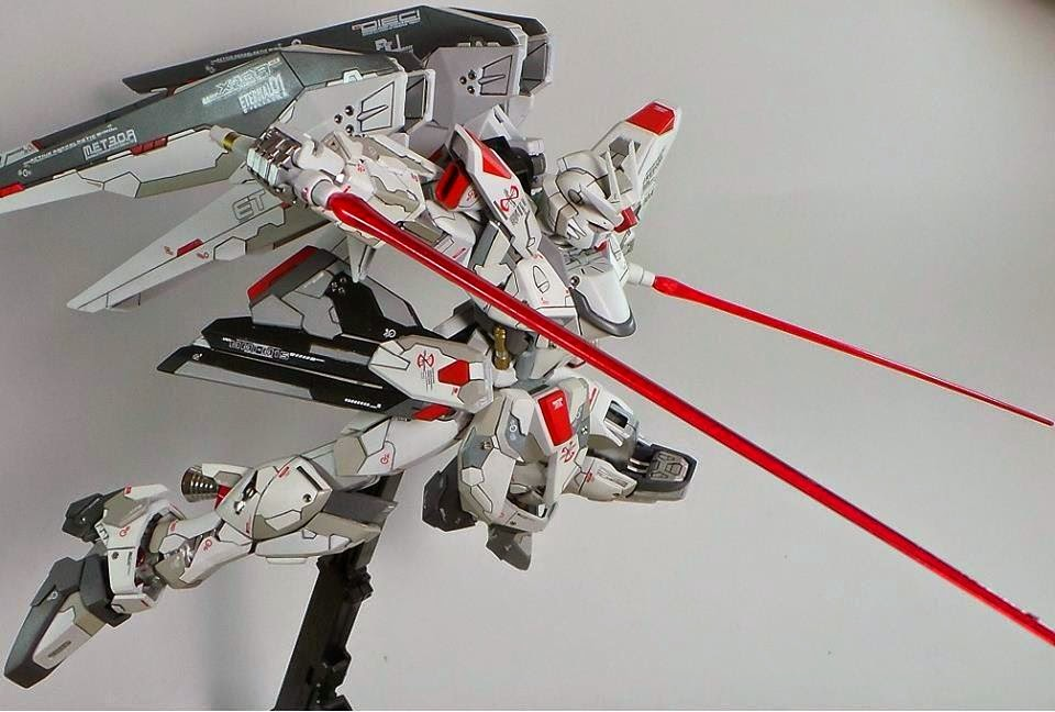 MG 1/100 Freedom Gundam - Customized Build by Boy Alexi