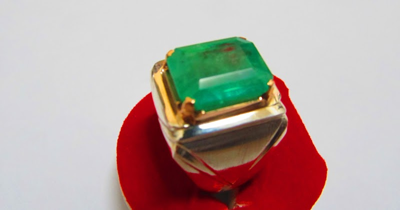 Important Kashmir Sapphire, Burma Ruby & Colombian Emerald