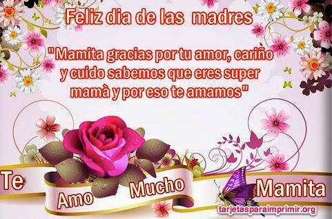 Tarjetas de Dia de la madre - Imagenes de amor para mi mama - Feliz dia de la madre