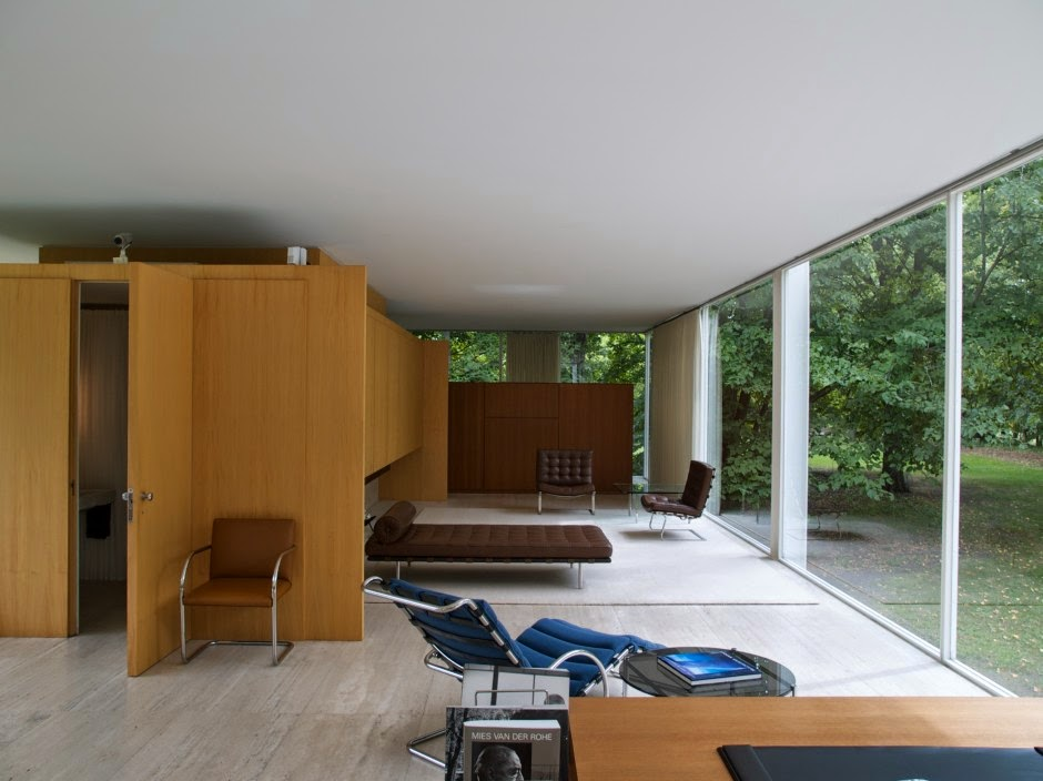 Casa farnsworth farnsworth house arquitectura asombrosa - Casa farnsworth ...