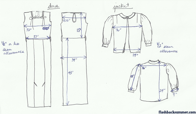 Flashback Summer - Make Do and Mend Gray Suit Project: Prep the Garment