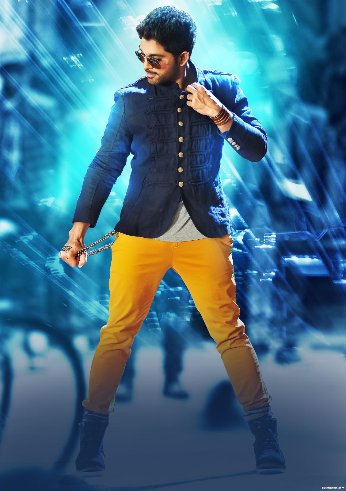 Stylish King ~ Allu Arjun: Rocking It, Tollywood Style!