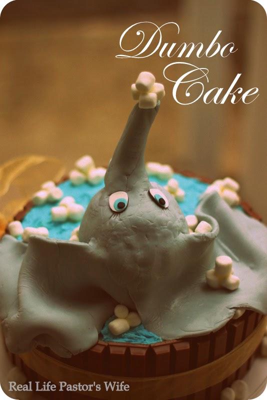 Real Life Pastor S Wife Dumbo Cake