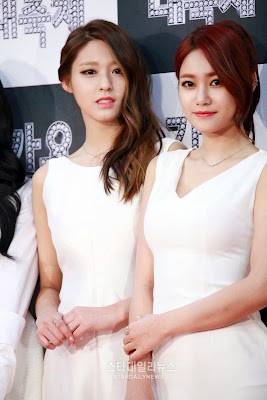 Seolhyun Yuna Aoa KBS Gayo 2014