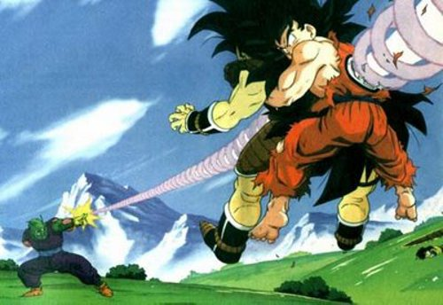 goku dan piccolo vs raditz, pertarungan dengan suku saiya, kekuatan suku saiya, kekuatan tempur suku saiya