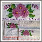 1º Sorteio do blog A Arte da Artesã
