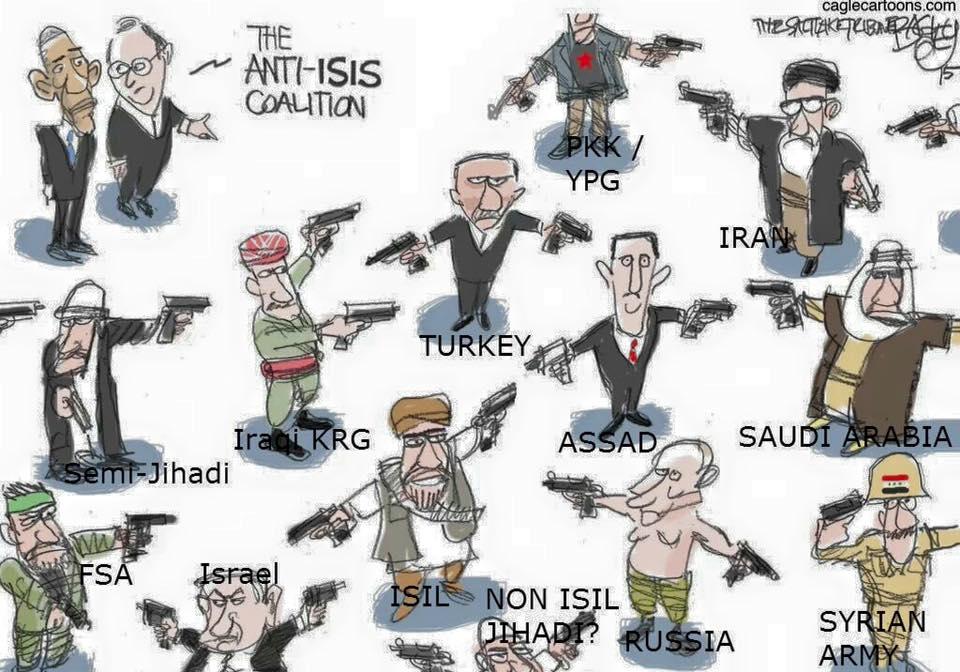 The Anti-SIS coalition!