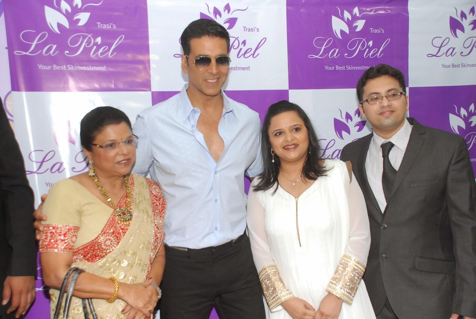 Actor Akshay Kumar inaugurates Dr. Trasi's clinic 'La Piel'