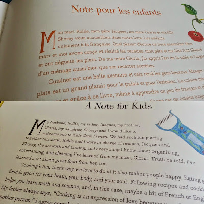 Kids Cook French Cookbook in French and English